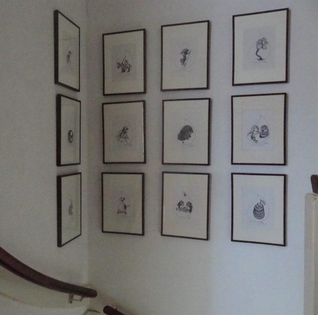 Twaalf-tekeningen-van-Elis-Juliana-foto-Aart-G.-Broek