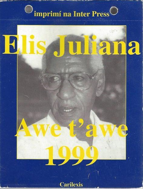 Elis Juliana omslag Awe t'awe - Henk Looman