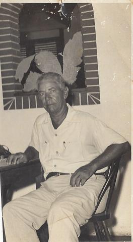 Medardo de Marchena  (Curaçao, 1899 – Bonaire, 1968) / foto familie Abraham Bonaire