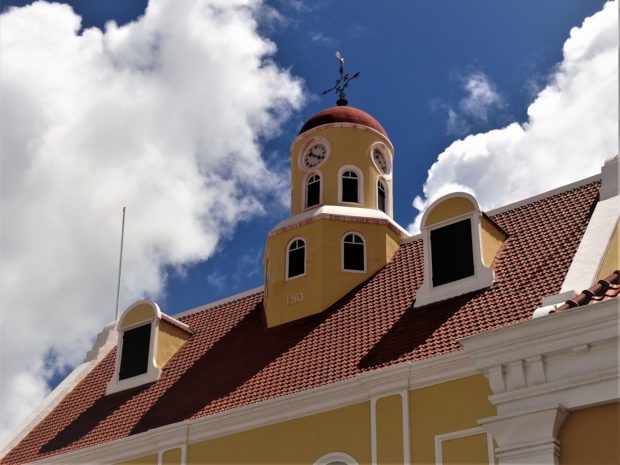 Protestantse kerk in fort Punda - 2018 - Aart G. Broek