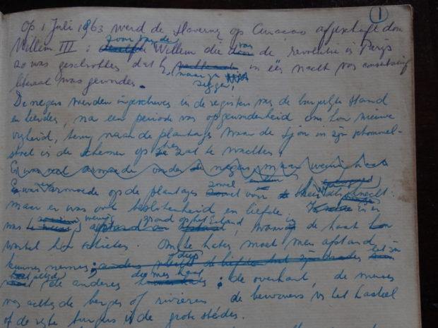 manuscript Boeli van Leeuwen - De eerste Adam - roman - foto Aart G. Broek / www.klasse-oplossingen.nl