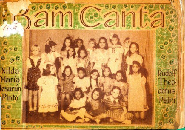 Liederenbundel Bam Canta van Nilda Pinto verscheen in 1948
