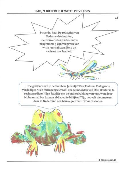 cartoon 14 - witte privileges - AGB - 2018.05.25 - Aart G. Broek - www.klasse-oplossingen.nl