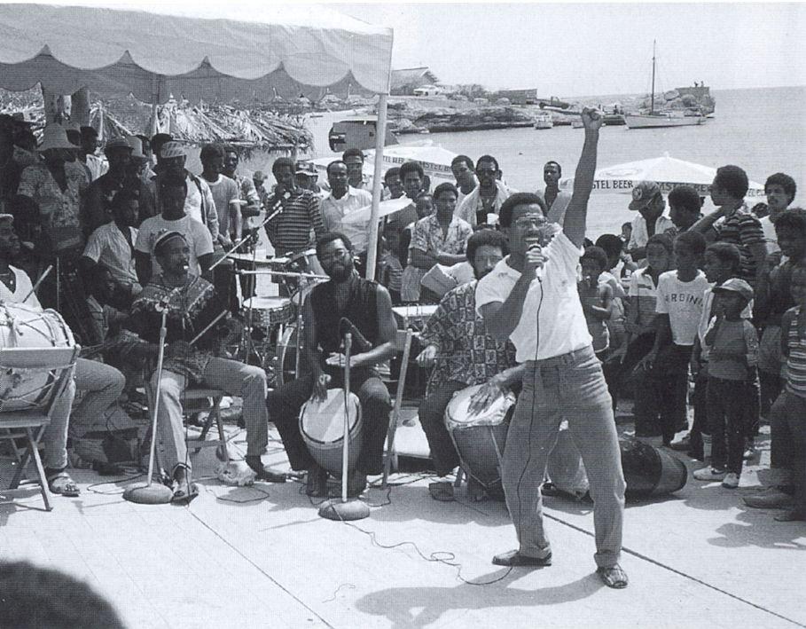 Gibi Bacilio - 1985 - Boca San Michiel - foto Aart G. Broek
