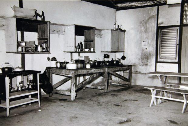 Keuken in kampement Suffisant