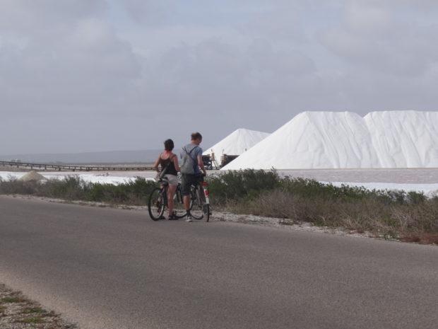 Nederland op ABC-eilanden - 9 - fietser - foto Aart G. Broek