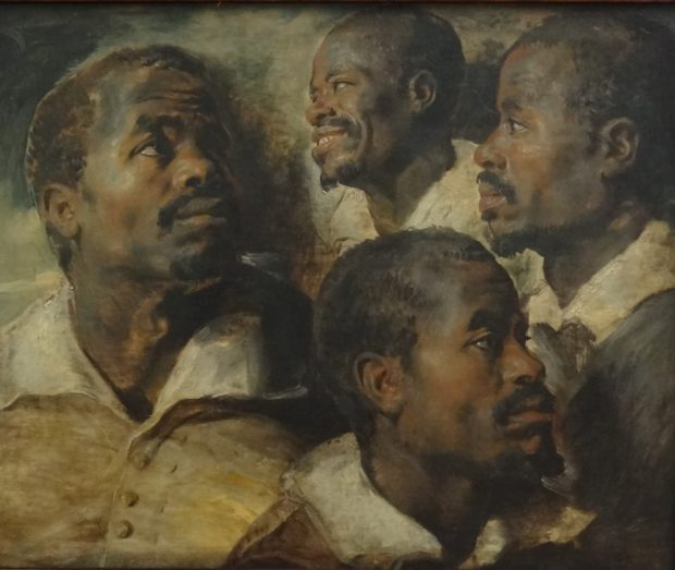 Rubens - Studies of the Head of a Negro - Brussels - foto Aart G. Broek