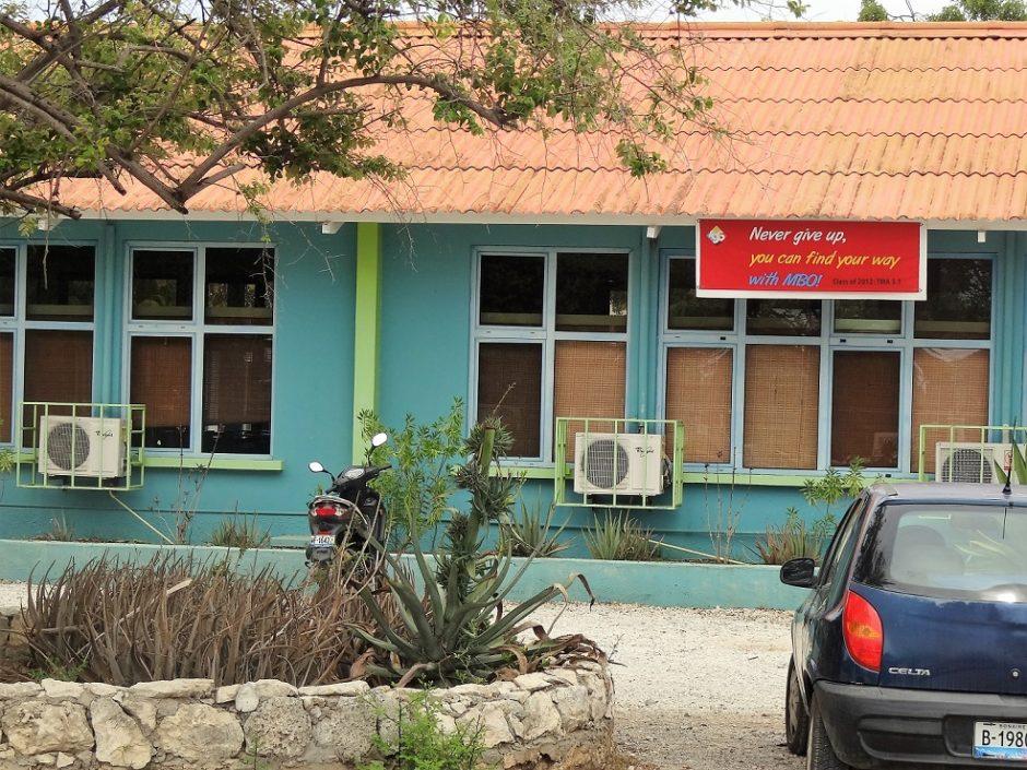 school op Bonaire / foto Aart G. Broek