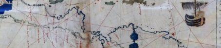 Planisfero anonimo [fragment], Italy, ca. 1530 - Vaticaans museum - foto Aart G. Broek